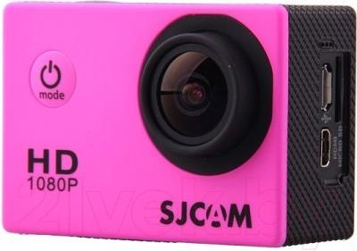Экшн-камера SJCAM SJ4000 (розовый)