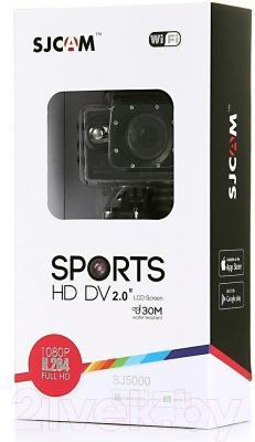 Экшн-камера SJCAM SJ5000 WiFi (черный)