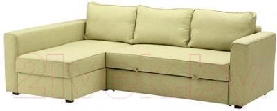 Угловой диван-кровать Ikea Монстад 702.199.05 (зеленый)