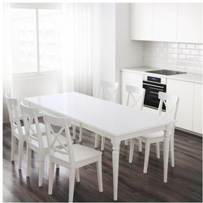 Обеденный стол Ikea Ингаторп 702.214.23 (белый)