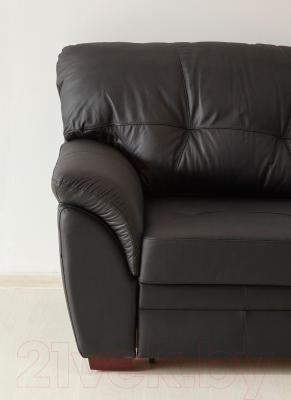 Угловой диван-кровать Ikea Бьербу 702.226.96 (черный)