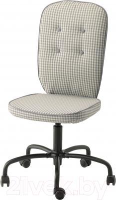 Кресло офисное Ikea Лиллхойден 702.332.42 (серый)
