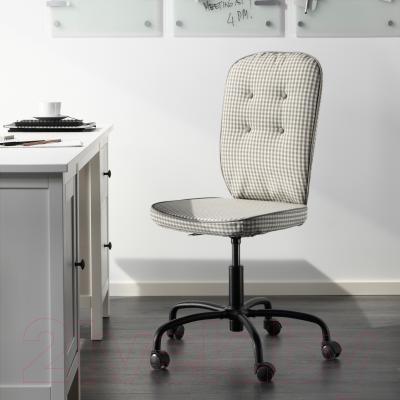 Кресло офисное Ikea Лиллхойден 702.332.42 (серый) - в интерьере