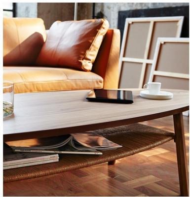 Журнальный столик Ikea Стокгольм 702.397.10 (шпон грецкого ореха)