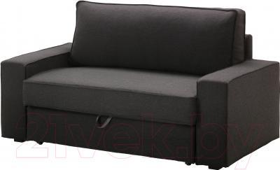 Чехол на диван - 2 местный Ikea Виласунд 702.430.57 (темно-серый)