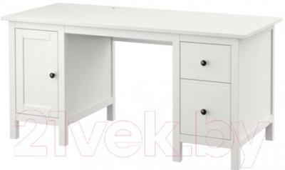 Письменный стол Ikea Хемнэс 702.457.25 (белая морилка)