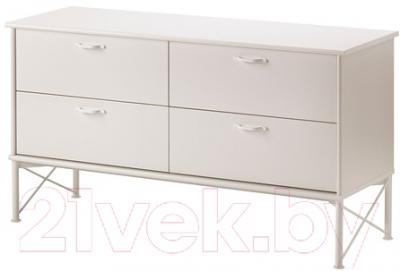 Комод Ikea Мускен 702.519.57 (белый)