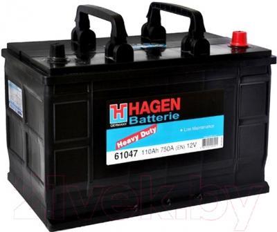 Автомобильный аккумулятор Hagen 61047 (110 А/ч)