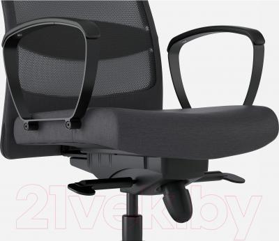 Кресло офисное Ikea Маркус 702.611.50 (темно-серый) - вид спереди