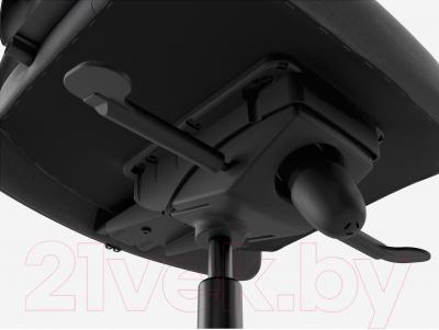 Кресло офисное Ikea Маркус 702.611.50 (темно-серый) - регулировки высоты сиденья и механизма качания