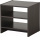 Прикроватная тумба Ikea Тодален 702.665.72 (черно-коричневый) -