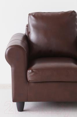 Диван-кровать Ikea Фиксхульт 702.762.98 (темно-коричневый, под мрамор)