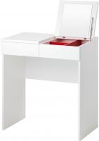Туалетный столик с зеркалом Ikea Бримнэс 702.904.59 (белый) -