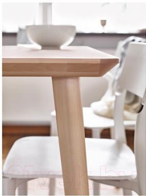 Обеденный стол Ikea Лисабо 702.943.39 (ясеневый шпон)