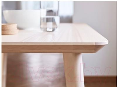 Журнальный столик Ikea Лисабо 702.976.58 (ясеневый шпон)
