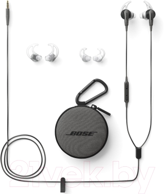 Наушники-гарнитура Bose SoundSport In-Ear for iPhone (черный)