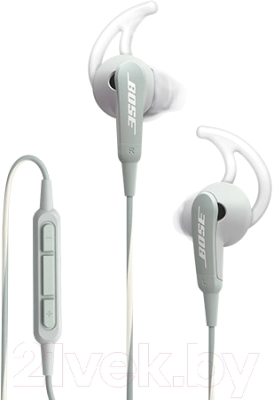 Наушники-гарнитура Bose SoundSport In-Ear for iPhone (серый)