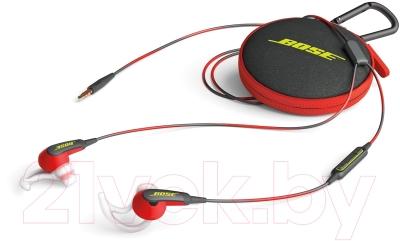 Наушники-гарнитура Bose SoundSport In-Ear for iPhone (красный)