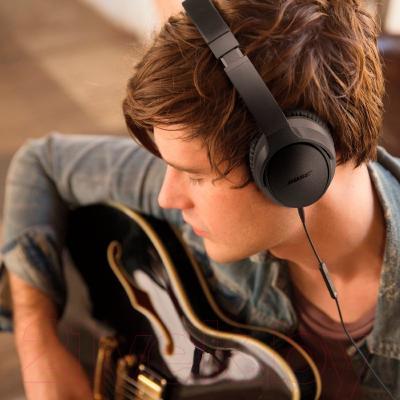 Наушники-гарнитура Bose SoundTrue Around-Ear for iPhone (черный)