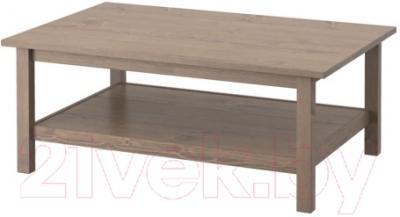 Журнальный столик Ikea Хемнэс 602.141.21 (серо-коричневый)