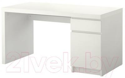 Письменный стол Ikea Мальм 602.141.59 (белый)