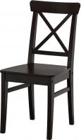 Стул Ikea Ингольф 602.178.22 (коричнево-черный) -