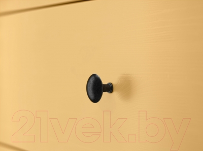 Комод Ikea Хемнэс 703.113.05 (желтый)