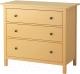 Комод Ikea Хемнэс 703.113.05 (желтый) -