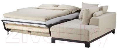Угловой диван-кровать Ikea Ногерсунд 703.157.61 (бежевый, правый)