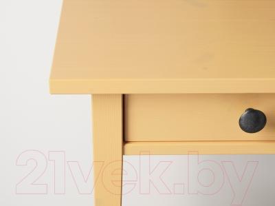 Прикроватная тумба Ikea Хемнэс 703.200.17 (желтый)