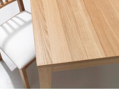 Обеденный стол Ikea Бьюрста 801.162.66 (дубовый шпон)