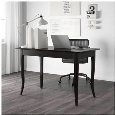 Письменный стол Ikea Лексвик 801.334.02 (черный)