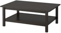 Журнальный столик Ikea Хемнэс 801.762.84 (черно-коричневый) -