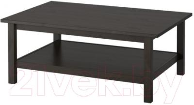 Журнальный столик Ikea Хемнэс 801.762.84 (черно-коричневый)