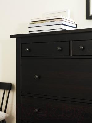 Комод Ikea Хемнэс 602.392.68 (черно-коричневый)