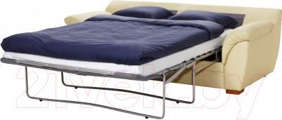 Диван-кровать Ikea Бьербу 801.913.26 (бежевый)