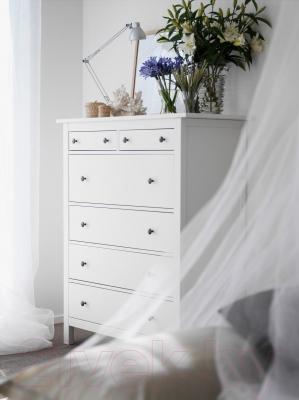 Комод Ikea Хемнэс 602.392.73 (белая морилка)