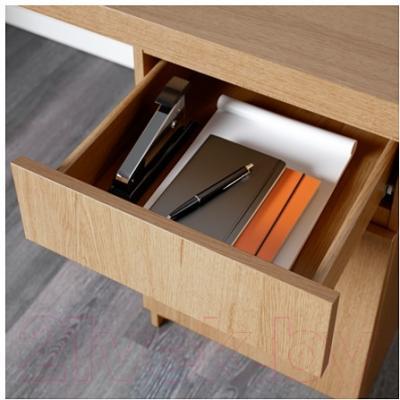 Письменный стол Ikea Мальм 802.141.58 (дубовый шпон)