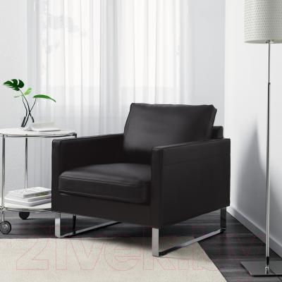 Кресло Ikea Мелби 802.143.99 (черный)