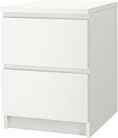 Прикроватная тумба Ikea Мальм 802.145.49 (белый) -