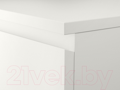 Прикроватная тумба Ikea Мальм 802.145.49 (белый)