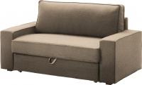 Чехол на диван - 2 местный Ikea Виласунд 602.430.53 (бежевый) -