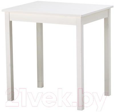 Обеденный стол Ikea Олмстад 802.403.79 (белый) - Инструкция по сборке