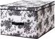 Ящик для хранения Ikea Гарнитур 802.501.27 (черный/белый) -