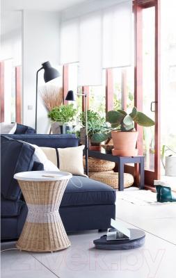 Журнальный столик Ikea Сандхауг 802.691.03 (белый) - в интерьере
