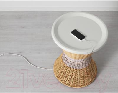 Журнальный столик Ikea Сандхауг 802.691.03 (белый)
