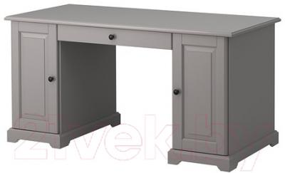 Письменный стол Ikea Лиаторп 802.694.19 (серый)