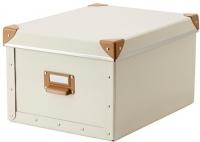 Ящик для хранения Ikea Фьелла 802.699.52 (белый с оттенком) -