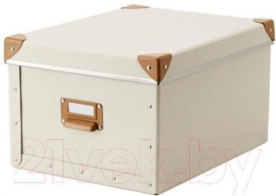 Ящик для хранения Ikea Фьелла 802.699.52 (белый с оттенком)