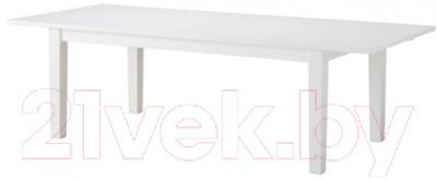 Обеденный стол Ikea Стурнэс 802.831.99 (белый)